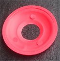 14mm Cylinder Collar Blank Red - image 1